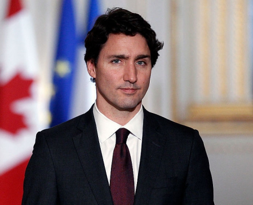 Pic of Justin Trudeau