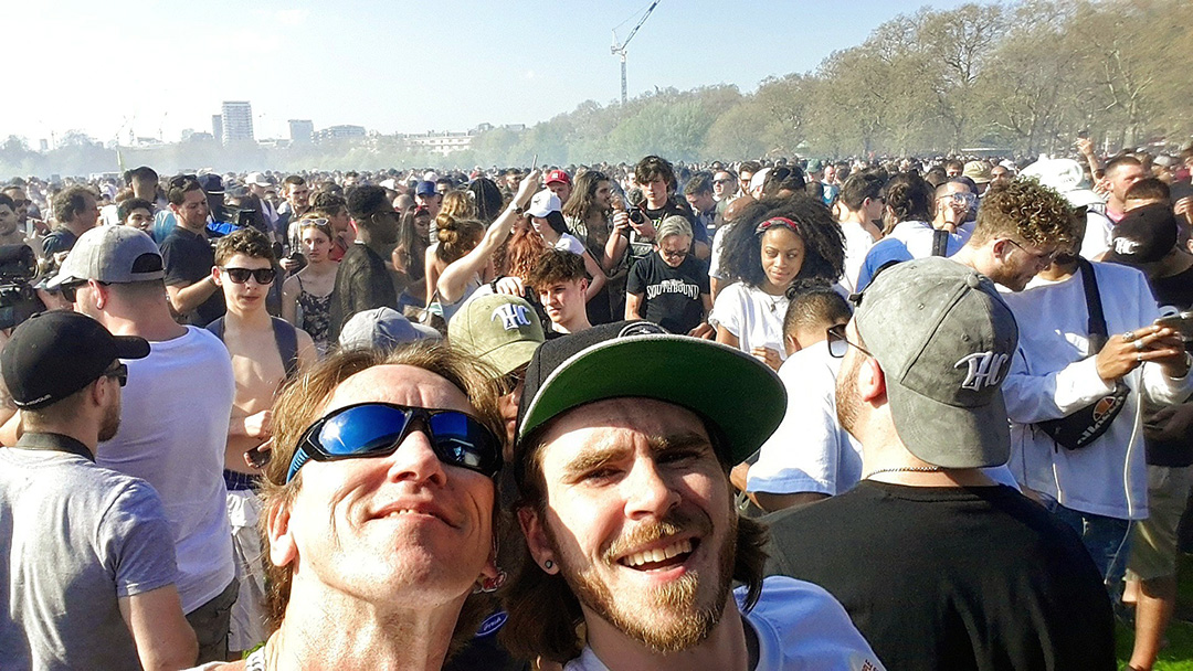 420 protest London 2018