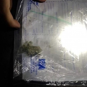 West Yorkshire Police confiscate 0.2 grams of cannabis.
