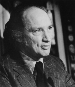 Photo of the late Prime Minister of Canada Pierre Trudeau.