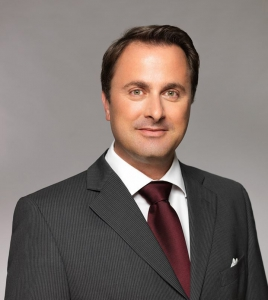 Photo of the Prime Minister, Xavier Bettel, who is going to legalise marijuana in Luxembourg.