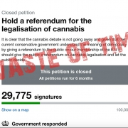 Government response to cannabis petitions proves they are a waste of time.