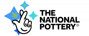 The National Lottery pot logo.