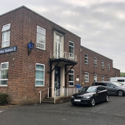 Photo of Totnes Police Station in Devon who left the doors unlocked.