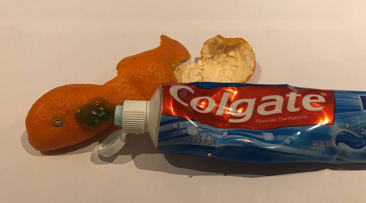 Orange peel and toothpaste legal hallucinogenic high.
