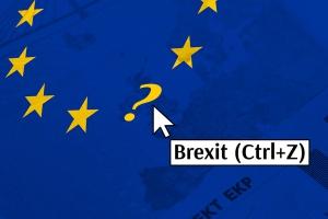 EU flag Brexit (Ctrl+Z)