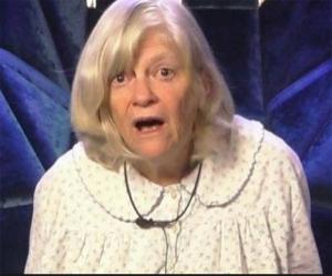 Ann Widdecombe MEP (aka Doris Karloff)
