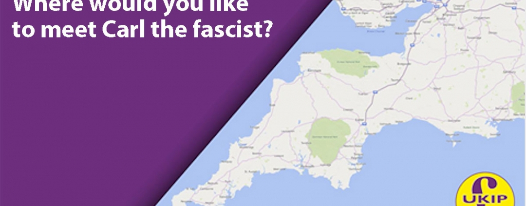 Sagon Akkad UKIP tour of the Westcountry