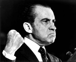 President Richard Nixon who coined the phrase 'war on drugs'.