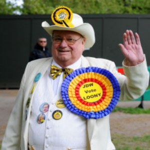 Alan Hope, leader of the Monster Raving Loony Party on Brexit.
