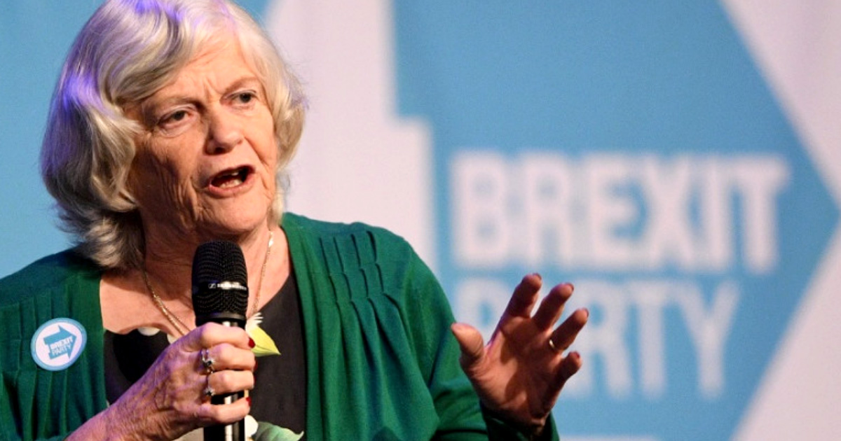 Ann Widdecombe MEP. who promotes her views on Europe alongside Holocaust deniers.