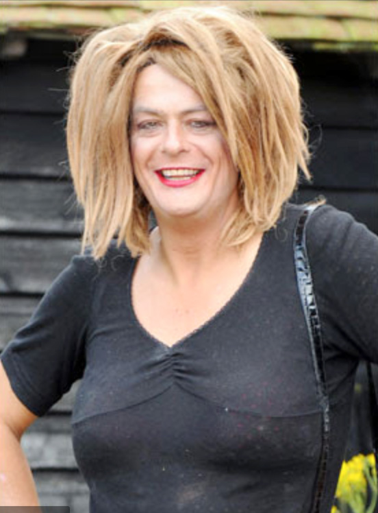 David Shayer, ex-MI5 agent, dressed as a woman claiming to be Jesus Christ.