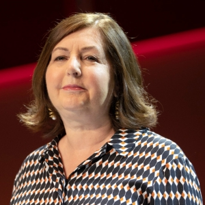 Photo of Dorothy Byrne, head of Channel 4 News in the UK.