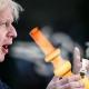 UK Prime Minister, Borish Johnson, smoking a bong.