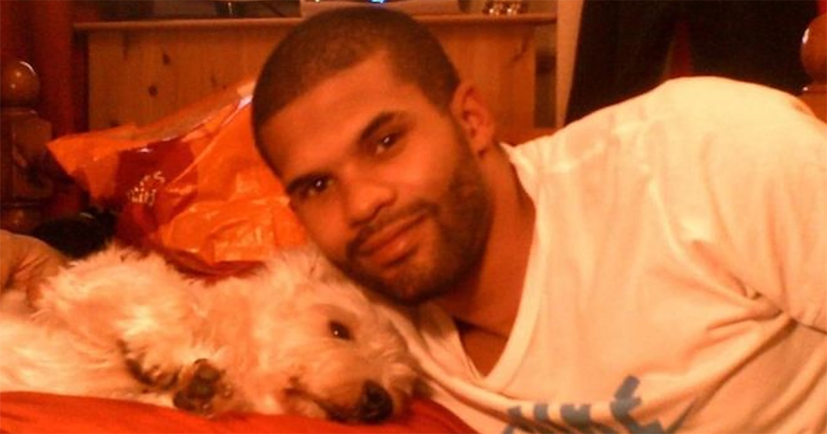 Photo of Simeon Francis who died in police custody in Torquay, Devon.